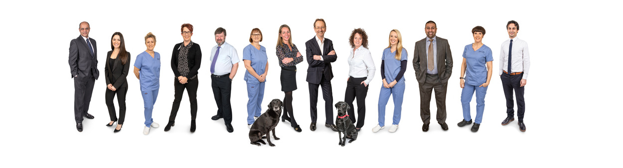 The Team at Latchford and Latchford Dental Surgery